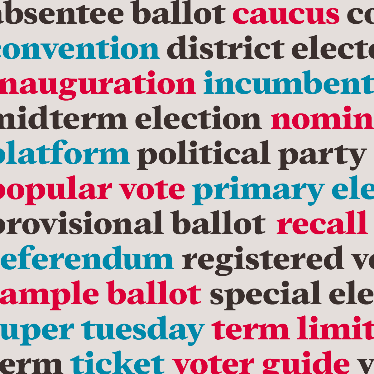 pattern of voting terms